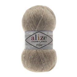 Пряжа Alize Angora Gold Star цвет норка 541