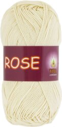 Пряжа Vita Cotton Rose цвет 3950 экрю