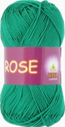 Пряжа Vita Cotton Rose цвет 4251 мятный