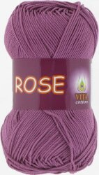 Пряжа Vita Cotton Rose цвет 4255 цикламен